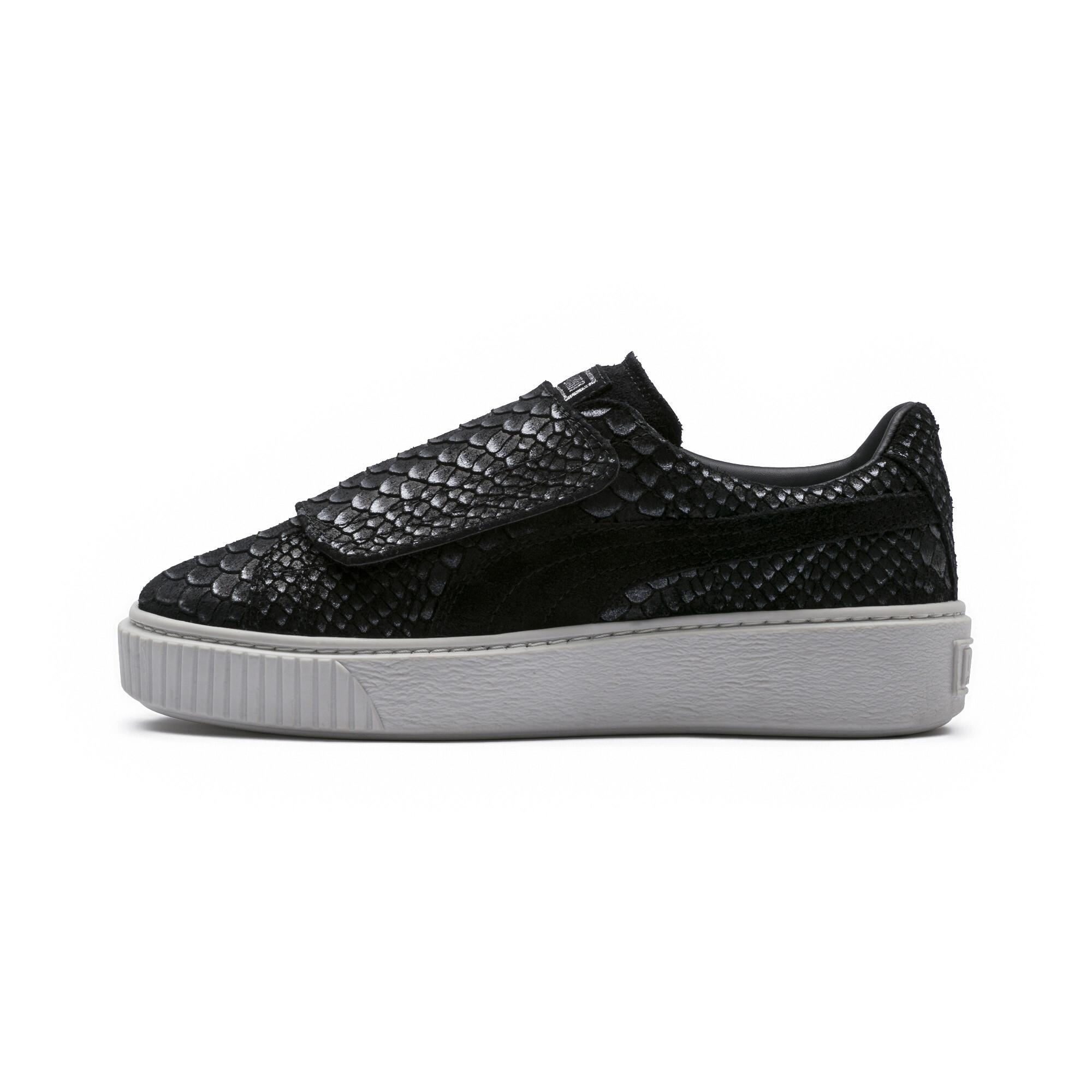 Image Puma Women's Platform Strap Sea Sneakers #1