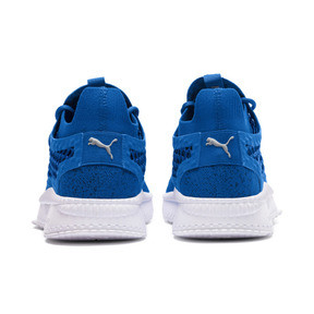 Thumbnail 4 of TSUGI NETFIT v2 evoKNIT Sneaker, Strong Blue-Puma Black-White, medium