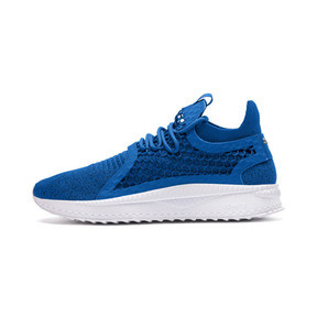 Thumbnail 1 of TSUGI NETFIT v2 evoKNIT Sneaker, Strong Blue-Puma Black-White, medium