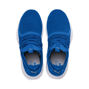 Thumbnail 6 of TSUGI NETFIT v2 evoKNIT Sneaker, Strong Blue-Puma Black-White, medium
