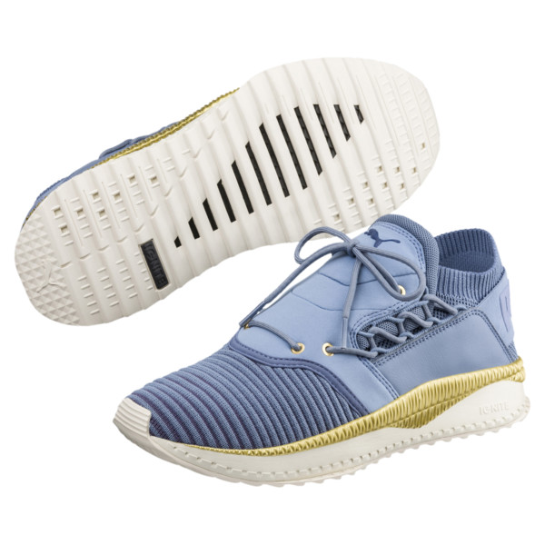 TSUGI Shinsei evoKNIT Sneakers, Infinity-BlIndigo-WhisWhite, large