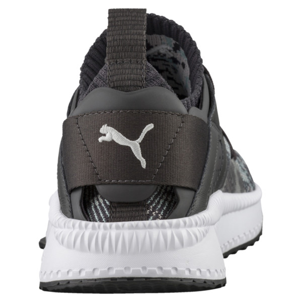 TSUGI Blaze evoKNIT Weather Forecast Sneakers, Asphalt-Gray Violet-Aquifer, large