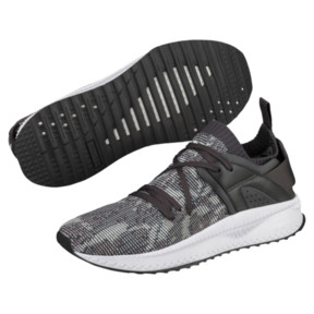 Thumbnail 2 of TSUGI Blaze evoKNIT Weather Forecast Sneakers, Asphalt-Gray Violet-Aquifer, medium