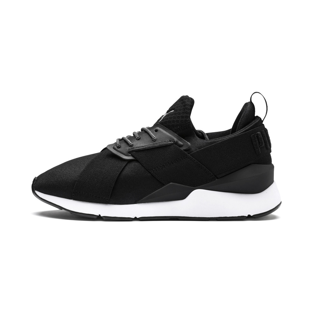 Image PUMA Women's Muse Satin Trainers #1