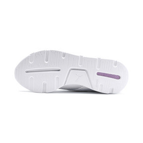 Thumbnail 4 of En Pointe Muse Satin Women's Trainers, Puma White-Puma White, medium