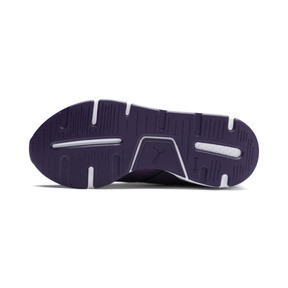 Thumbnail 4 of En Pointe Muse Satin Women's Trainers, Indigo-Indigo, medium
