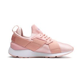 Thumbnail 5 of En Pointe Muse Satin Women's Trainers, Peach Bud-Peach Bud, medium