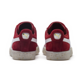 Thumbnail 4 of Basket Suede Classic B-BOY Fabulous pour femme, Red Dahlia-Puma White-Melon, medium