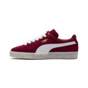 Thumbnail 6 of Basket Suede Classic B-BOY Fabulous pour femme, Red Dahlia-Puma White-Melon, medium