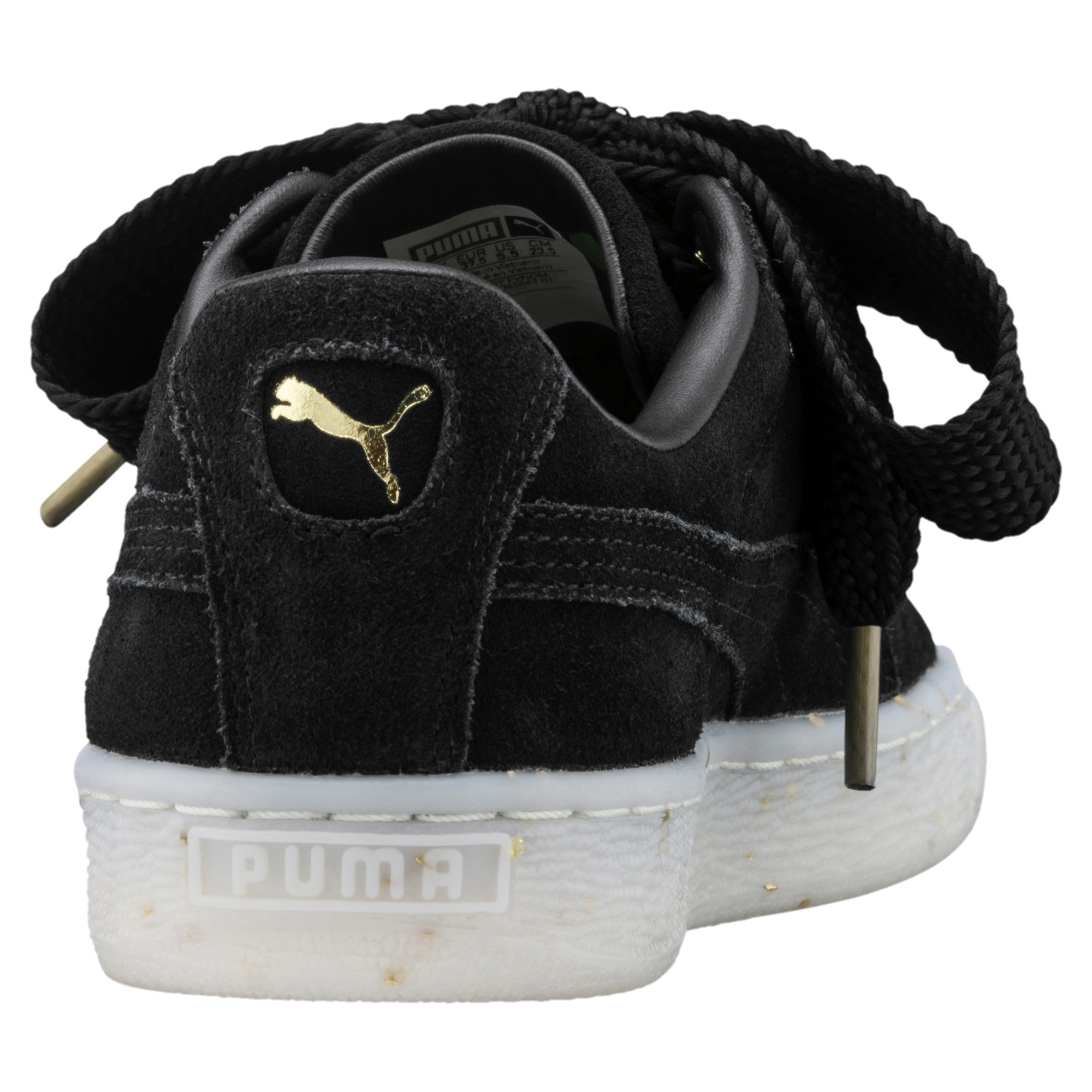 Image Puma Women's Suede Heart Celebrate Sneakers #4