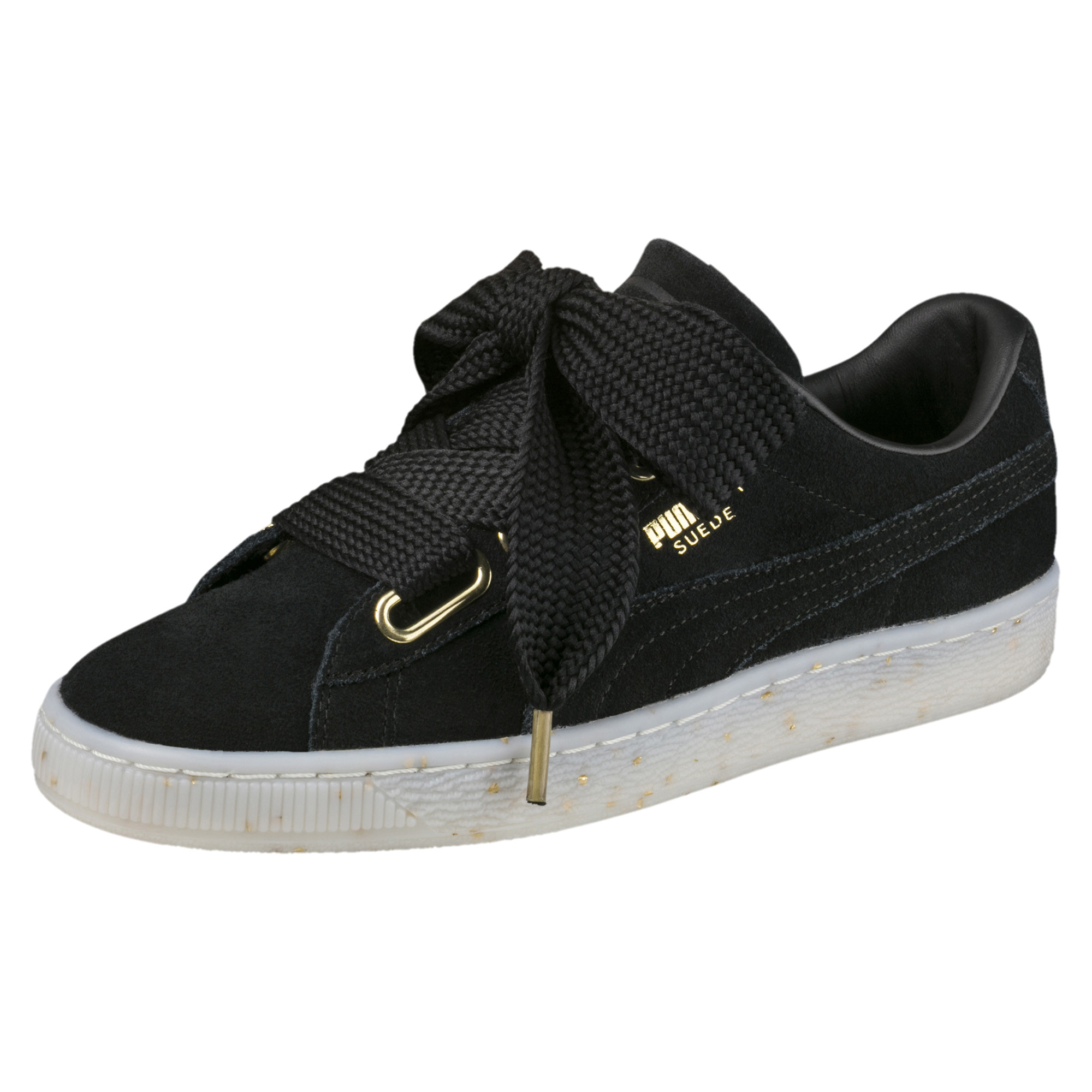 Image Puma Women's Suede Heart Celebrate Sneakers #1