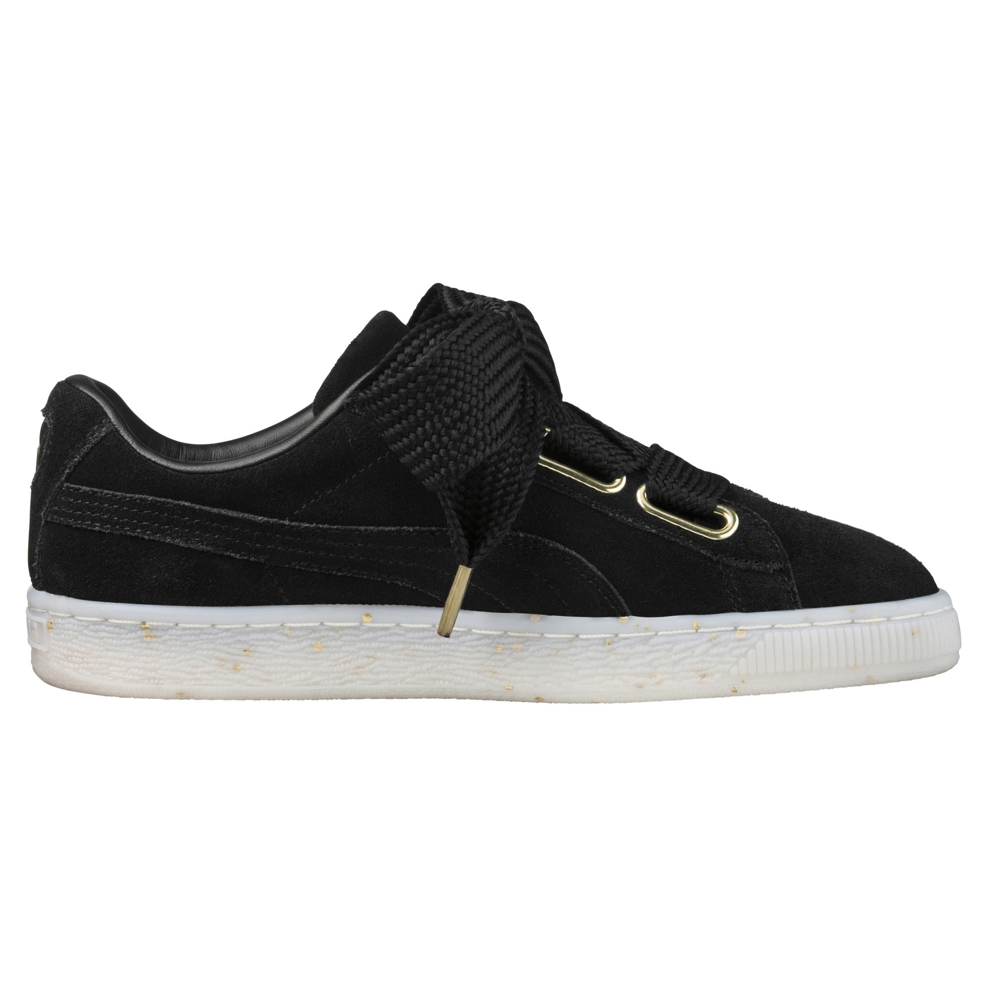 Image Puma Women's Suede Heart Celebrate Sneakers #3