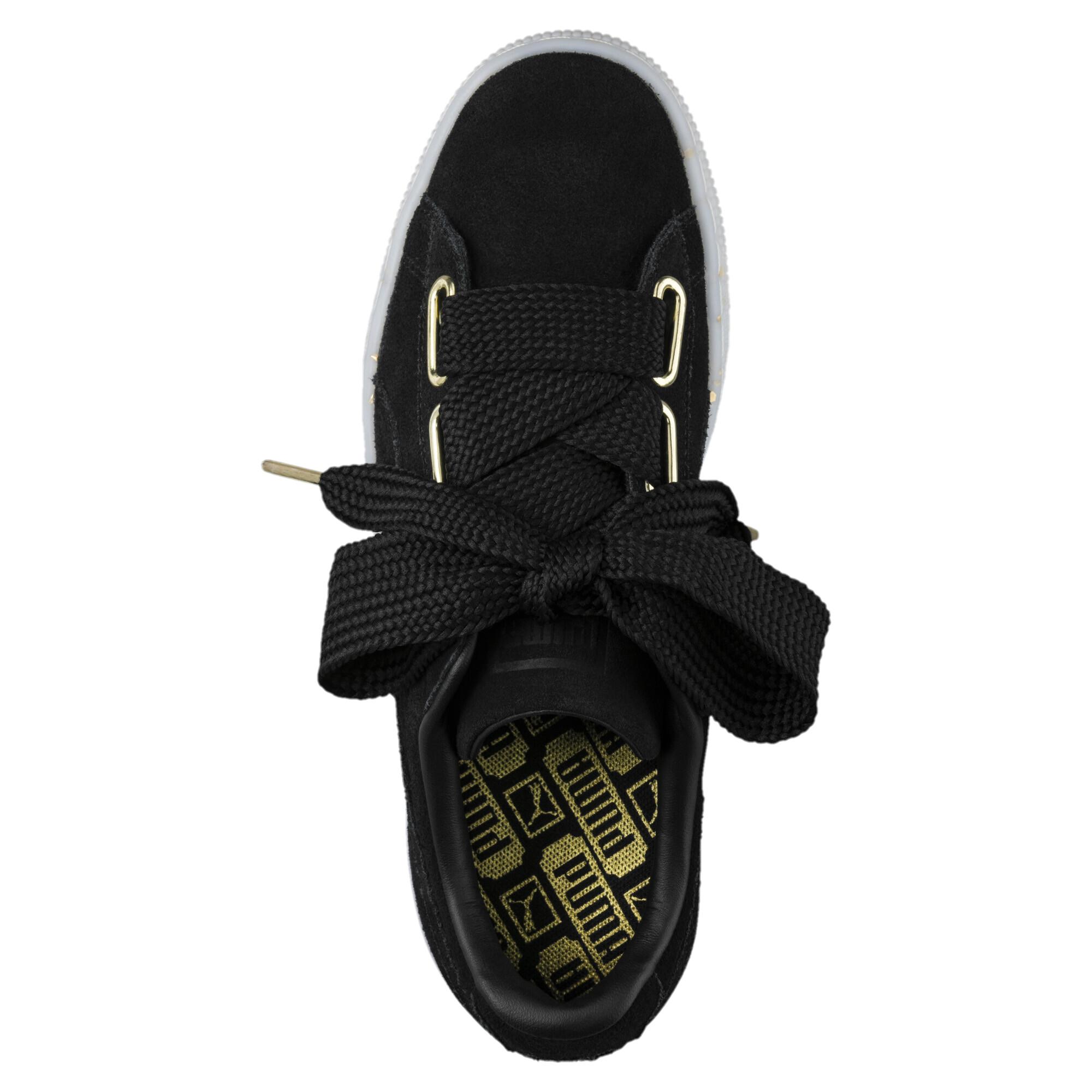 Image Puma Women's Suede Heart Celebrate Sneakers #5