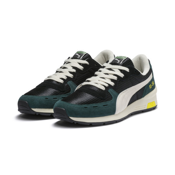 RS-350 OG Men's Sneakers, Puma Black-Ponderosa Pine, large