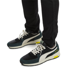 Thumbnail 2 of RS-350 OG Men's Sneakers, Puma Black-Ponderosa Pine, medium