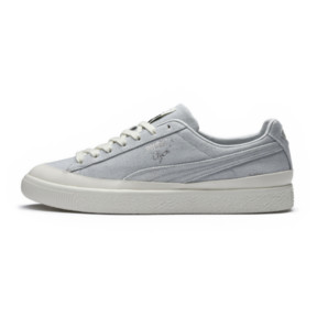 Thumbnail 6 of PUMA x DIAMOND Clyde Sneakers, Glacier Gray-Glacier Gray, medium