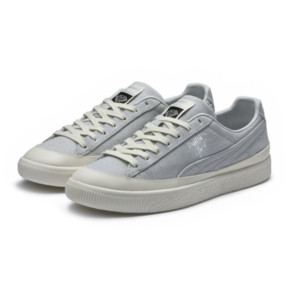 Thumbnail 2 of PUMA x DIAMOND Clyde Sneakers, Glacier Gray-Glacier Gray, medium