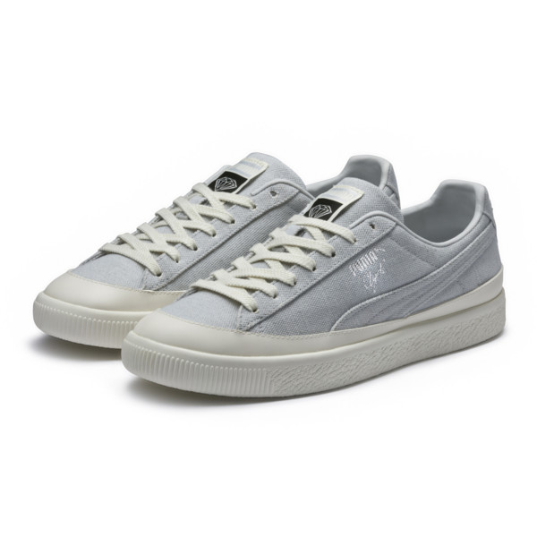 PUMA x DIAMOND Clyde Sneakers, Glacier Gray-Glacier Gray, large