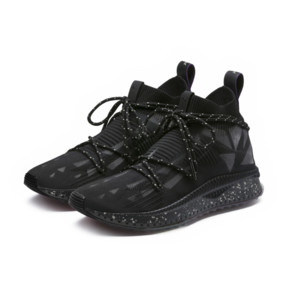 Thumbnail 2 of PUMA x NATUREL TSUGI evoKNIT Sock Sneakers, Puma Black-Puma Black, medium