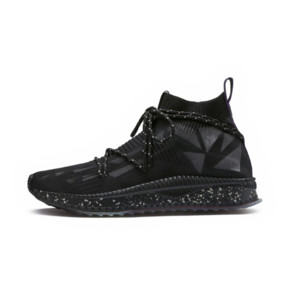 Thumbnail 1 of PUMA x NATUREL TSUGI evoKNIT Sock Sneakers, Puma Black-Puma Black, medium
