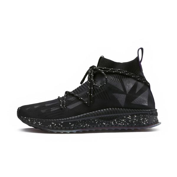 PUMA x NATUREL TSUGI evoKNIT Sock Sneakers, Puma Black-Puma Black, large