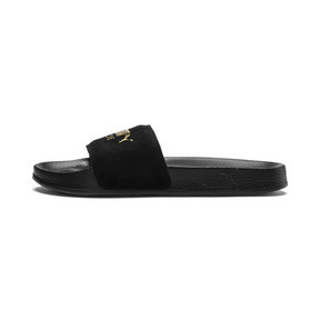 Thumbnail 1 of Leadcat Suede, Puma Black-Puma Team Gold, medium