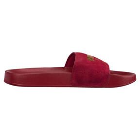 Thumbnail 3 of Suede Leadcat Sandals, Red Dahlia-Puma Team Gold, medium