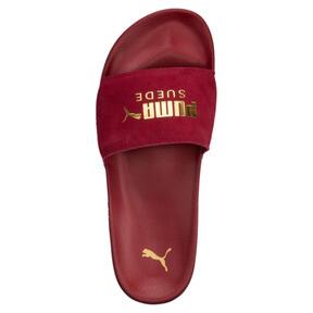 Thumbnail 5 of Suede Leadcat Sandals, Red Dahlia-Puma Team Gold, medium