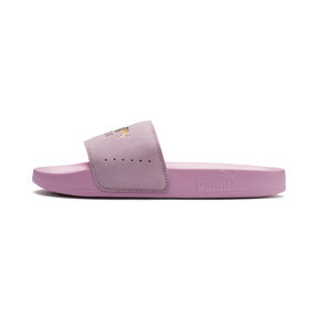 Thumbnail 1 of Leadcat Suede, Pale Pink-Puma Team Gold, medium