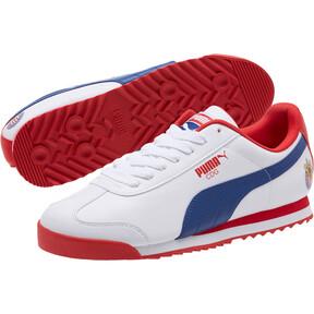 Thumbnail 2 of Roma Basic CDG Men's Sneakers, White-Limoges-High Risk Red, medium