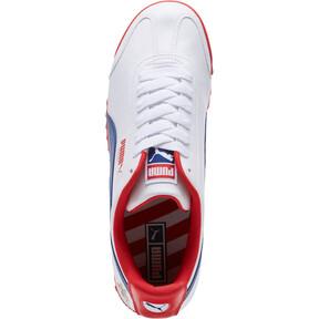 Thumbnail 5 of Roma Basic CDG Men's Sneakers, White-Limoges-High Risk Red, medium