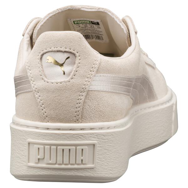 Suede Summer Satin Platform Sneakers, 02, large