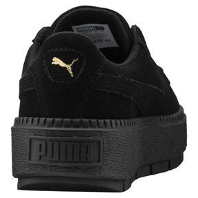 Thumbnail 4 of Platform Trace Women's Sneakers, Puma Black-Puma Black, medium