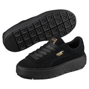 Thumbnail 2 of Platform Trace Women's Sneakers, Puma Black-Puma Black, medium