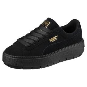 Thumbnail 1 of Platform Trace Women's Sneakers, Puma Black-Puma Black, medium