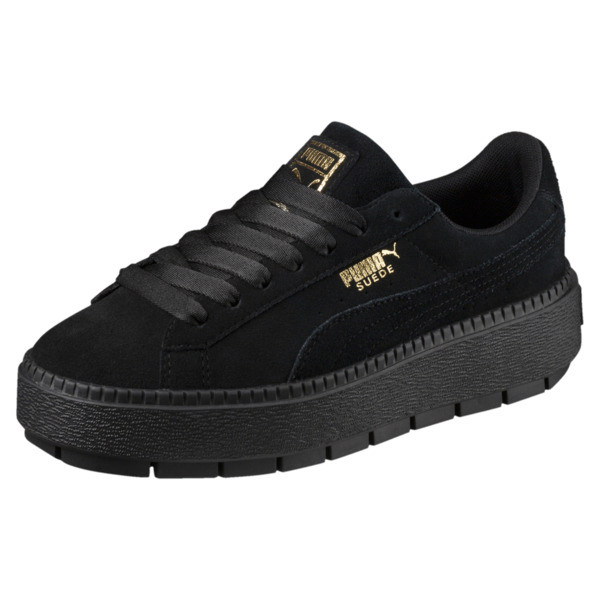 Platform Trace Women's Sneakers, Puma Black-Puma Black, large