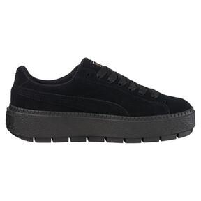 Thumbnail 3 of Platform Trace Women's Sneakers, Puma Black-Puma Black, medium