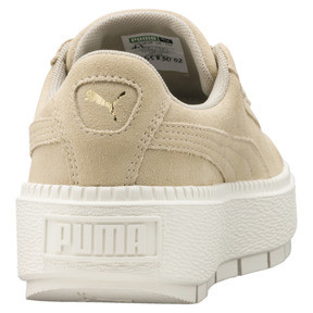 Thumbnail 4 of Platform Trace Women's Sneakers, Safari-Marshmallow, medium