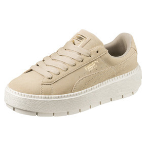 Thumbnail 1 of Platform Trace Women's Sneakers, Safari-Marshmallow, medium