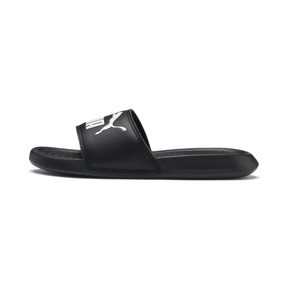 Thumbnail 1 of Popcat Youth Sandal, Puma Black-Puma White, medium