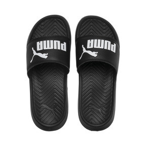 Thumbnail 6 of Popcat Youth Sandal, Puma Black-Puma White, medium