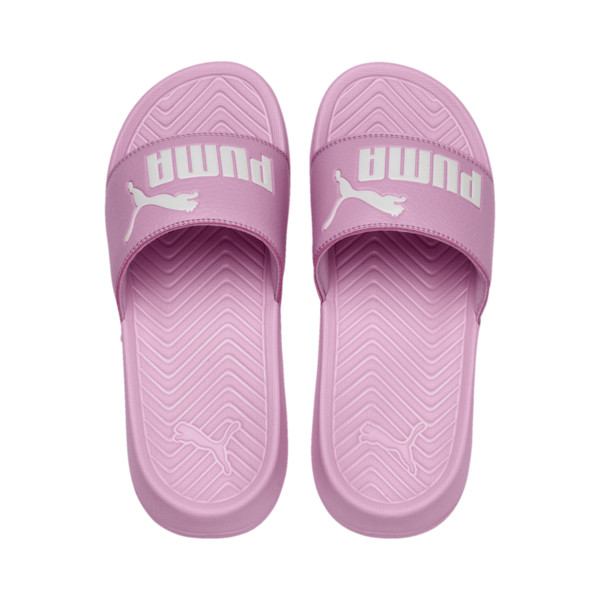 Popcat Youth Sandal, Pale Pink-Puma White, large
