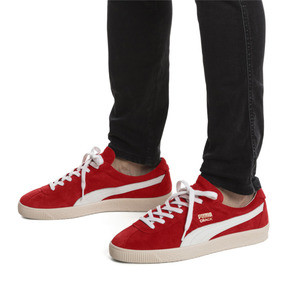 Thumbnail 2 of Puma Crack Heritage Trainers, High Risk Red-Puma White, medium