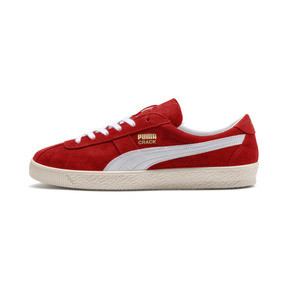 Thumbnail 1 of Puma Crack Heritage Trainers, High Risk Red-Puma White, medium