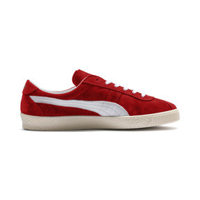 Thumbnail 6 of Puma Crack Heritage Trainers, High Risk Red-Puma White, medium
