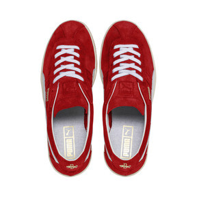 Thumbnail 7 of Puma Crack Heritage Trainers, High Risk Red-Puma White, medium
