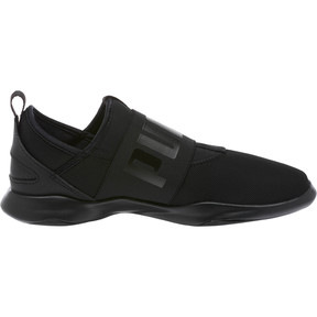 Thumbnail 3 of Dare Women's Slip-On Sneakers, Puma Black-Puma Black, medium