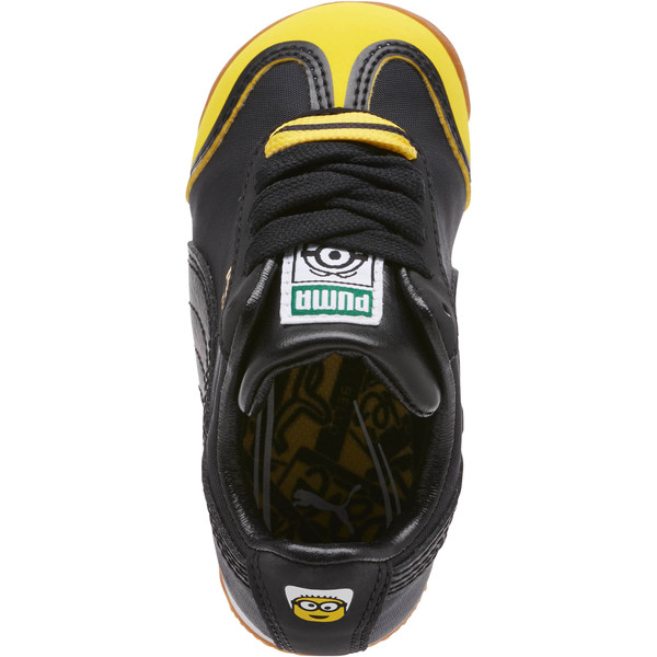 Minions Roma Toddler Shoes, Black-Minion Yellow-Black, large