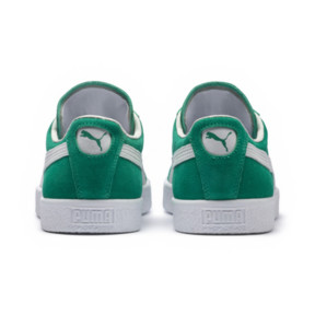 Thumbnail 4 of Suede 90681 Sneakers, Kelly Green-Puma White, medium