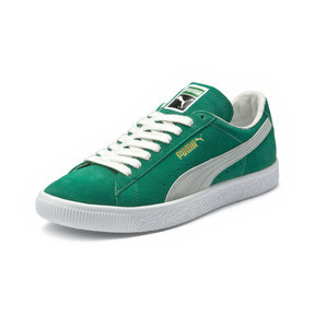 Thumbnail 1 of Suede 90681 Trainers, Kelly Green-Puma White, medium